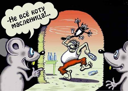 карикатура и рисунок про животных