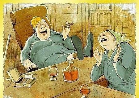 карикатура про подруг