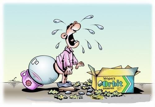 карикатура про вкусняшку