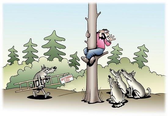 ну очень смешная карикатура