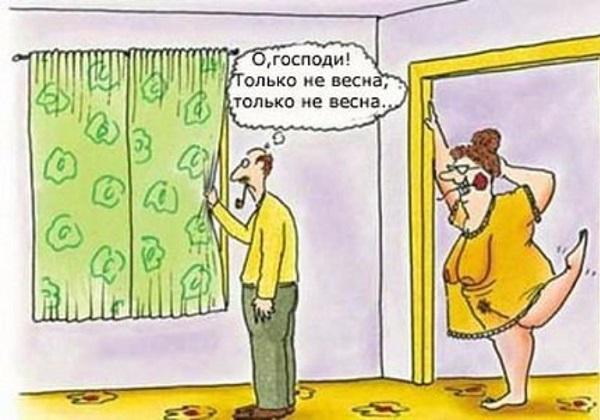 Очень смешные анекдоты про мужа
