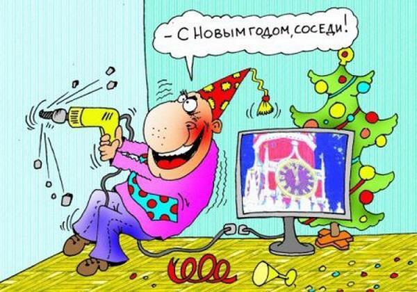 Read more about the article Прикольные шутки и фразы про Новый год