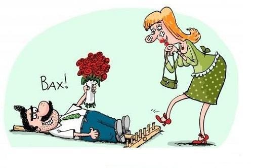 Самые смешные карикатуры про женщин