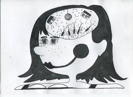 смешная до слез карикатура про девушек