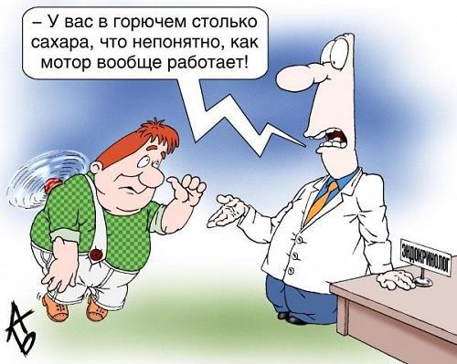 смешная карикатура про продукты