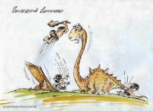 смешная карикатура про зверей