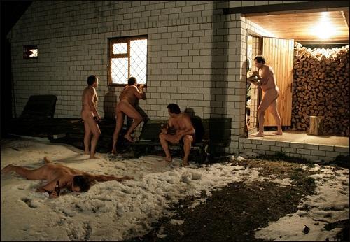 смешное фото про баню