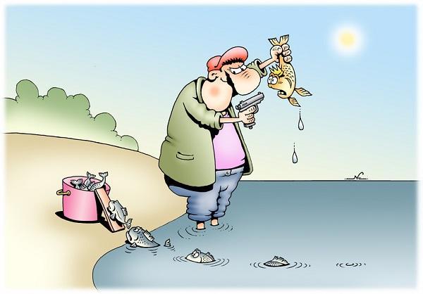 смешные анекдоты про рыбаков