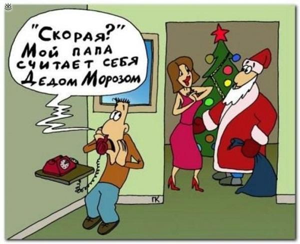 Read more about the article Смешные шутки и стишки про Новый год