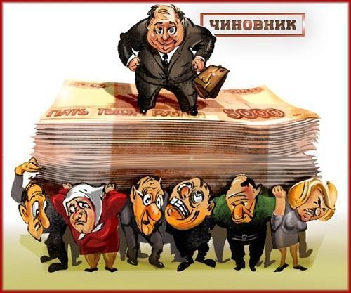 прикольная карикатура про чиновнико