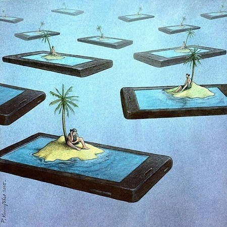 прикольная карикатура про мир