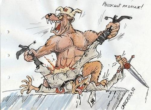 русская карикатура