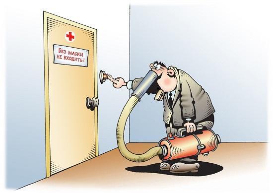 Read more about the article Смешные карикатуры про пандемию