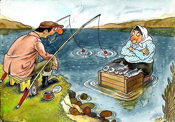 смешные стихи про рыбалку и рыбаков