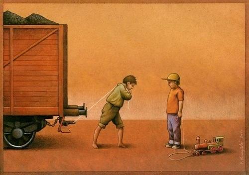 социальная карикатура и картинка