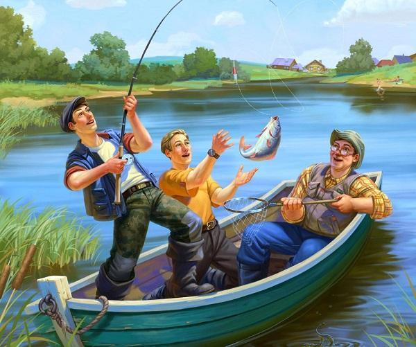 стихи про рыбаков и рыбалку