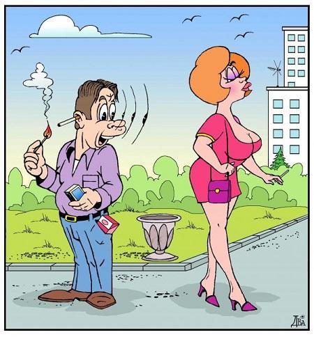 забавная подборка картинок и карикатур