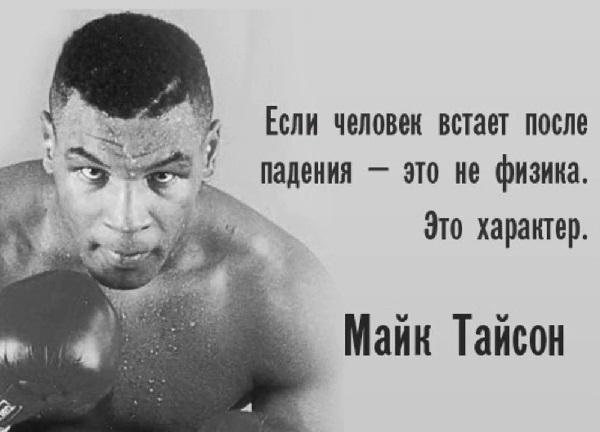 Интересные цитаты про бокс
