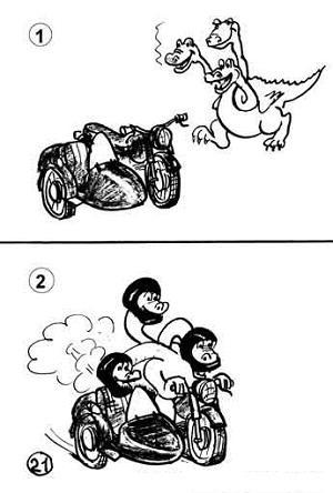 смешные карикатуры про машины и технику