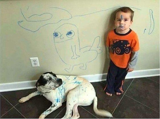 Самые смешные дети на картинках