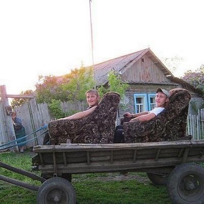 Смешные фото про деревню