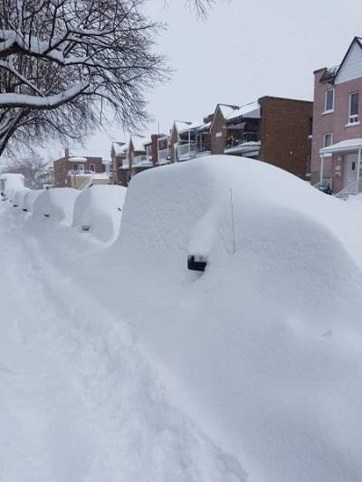 Суровые русские зимы