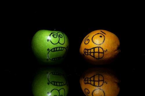Прикольные фрукты на картинках