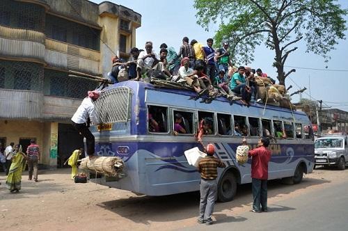 Фото индийских автобусов