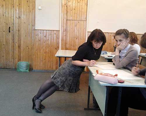Прикольные фото с учителями
