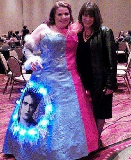 Прикольные платья невест