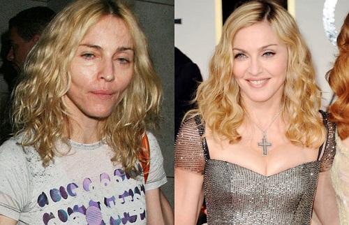 Популярные женщины без макияжа