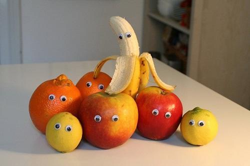 Картинки со смешными фруктами