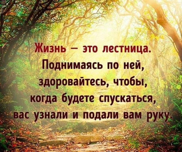 Красивые короткие цитаты про смысл жизни