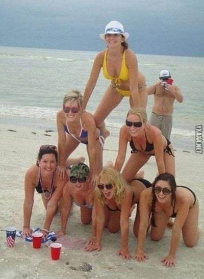 Фото приколы на пляже