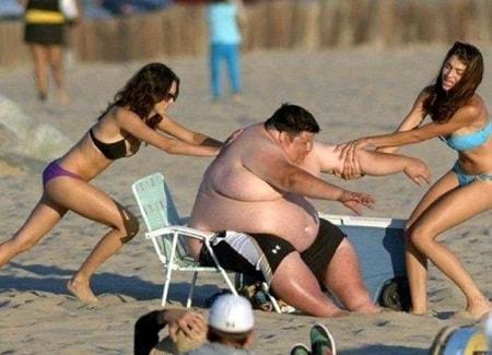 Смешные фото про пляж