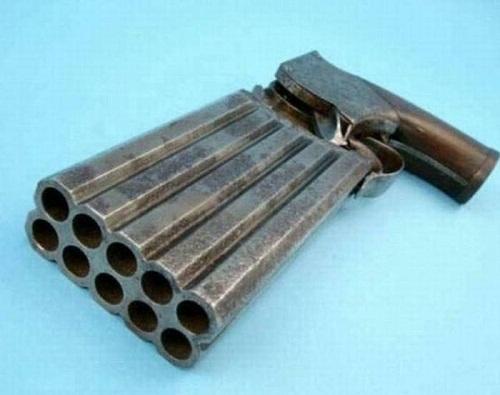 Необычное огнестрельное оружие (фото)
