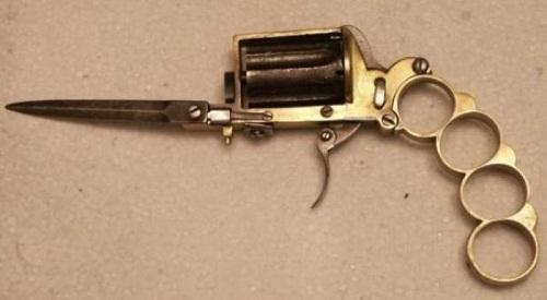 Интересное огнестрельное оружие на фото