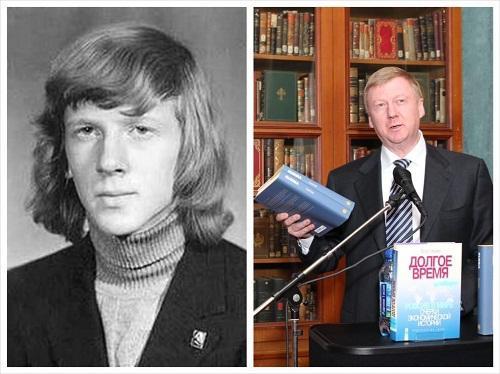 Политики в молодости и сейчас
