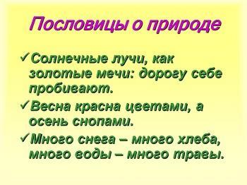 Поговорки и пословицы (картинки)