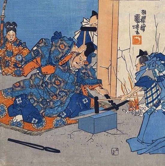 японские кузнецы