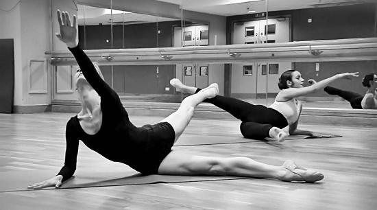 занятие в балетной группе