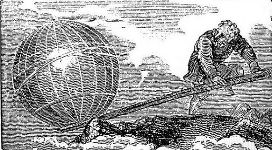 архимед сдвигает землю