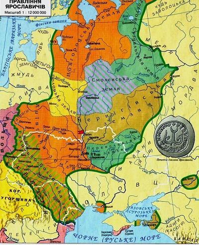 границы киевской руси