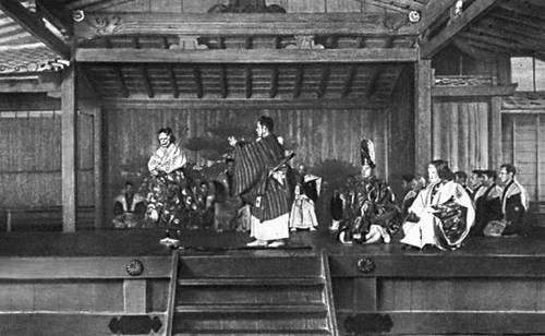 ниндзя играли в театре