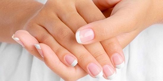 ногти на пальцах рук