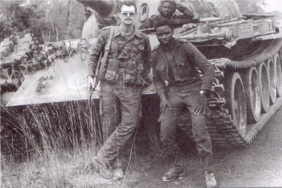 советские солдаты в алжире