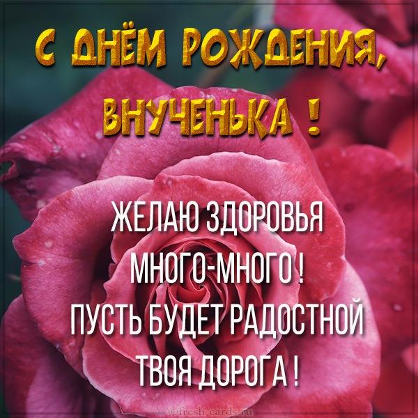 Read more about the article Поздравления внучке с Днем Рождения