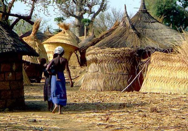 деревня буркина-фасо