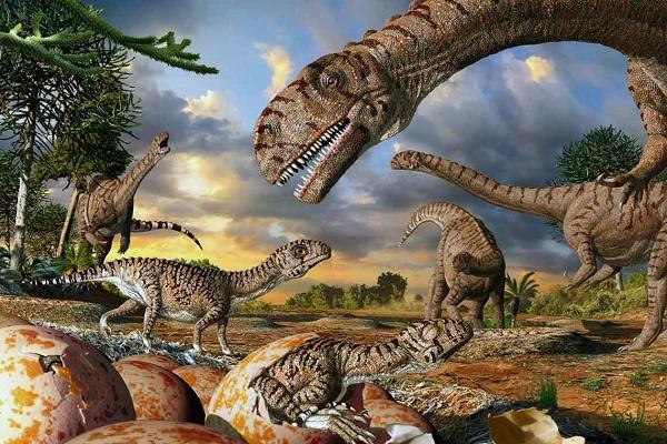 динозавры жили долго