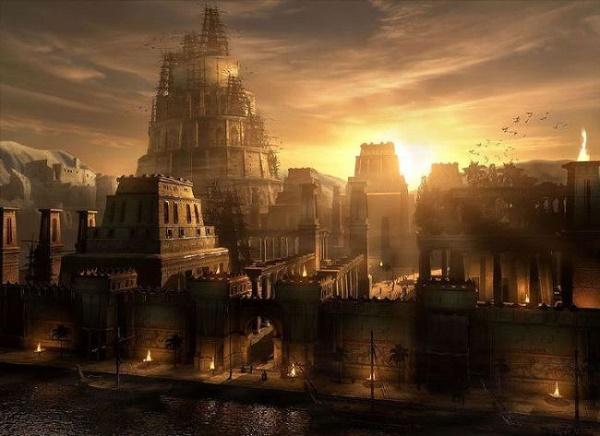 город Вавилон македонского